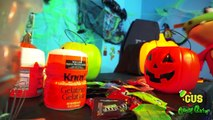 HALLOWEEN DIY GIANT GUMMY PUMPKIN ! How to make Jello gummies for kids-3yMRJToeUyQ