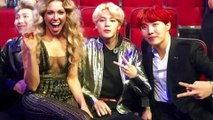 The BEST Celebrity Reactions To BTS at the AMA's   The Kossip List