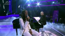 "Vicky sings ""To Make You Feel My Love"" _ Live Show _ The Voice Nigeria 2016-Q7rjRIIJp1A"