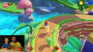 4 CO OP Mario Rabbids Kingdom Battle NEW Nintendo Switch GA