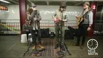 Adam Levine et Jimmy Fallon créent la sensation dans le métro !