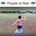 I'm singing in the rain. Just singing in the rain