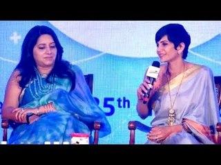 Mandira Bedi Attends The Launch Of Activkids Immuno Boosters