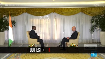 5 choses à retenir de l'interview d'Alassane Ouattara