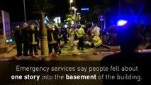 Dozens injured as night club floor collapses in Tenerife