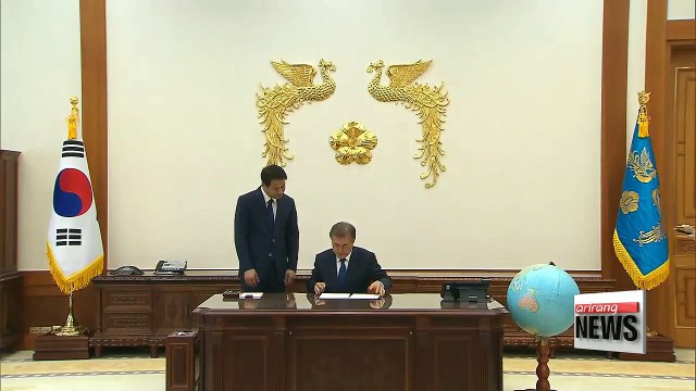 President Moon Jae-in's approval rating rises for the fourth consecutive week