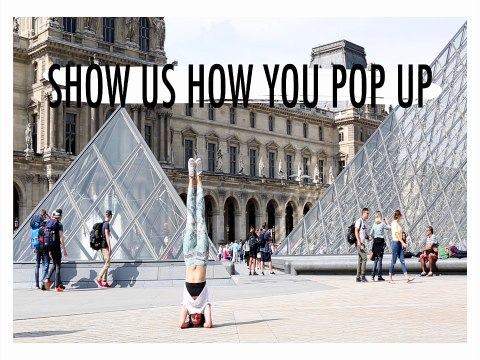 Show Us How You #PopUp