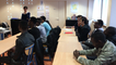 Le recteur visite une classe de mineurs isolés étrangers à Nantes