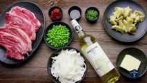 Lamb Chops with Artichokes Recipe