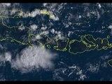 Mount Agung's Smoke Plumes Drift East After Weekend Eruptions