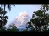 Bali's Mount Agung Volcano Spews Huge Plume of Smoke