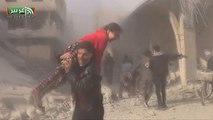 Siria: almeno 18 morti in nuovo raid del regime sulla Ghouta