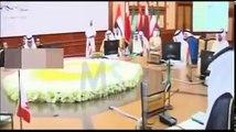 عاااجل انفراج الأزمة الخليجية بحضور الملك سلمان القمة الخليجية مع أمير قطر تميم
