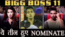 Bigg Boss 11: Bandgi Kalra, Puneesh Sharma and Luv Tyagi NOMINATED ! | FilmiBeat