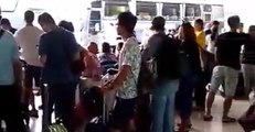 Travelers Stranded at Bali Airport Amid Volcanic Eruptions