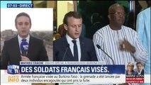 Des soldats français visés par une attaque en marge de la visite de Macron au Burkina Faso