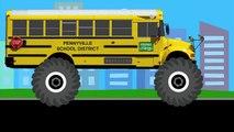 Aprendan con Vehículos Monstruosos Para Niños - Aprendan Camiones Monstruos, Carros, Vehículos y Más-oruvFttj824