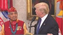 """Pocahontas"" : Trump dérape encore - 28/11/2017"