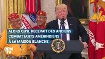 """Trump l'appelle """"Pocahontas"""", cette sénatrice démocrate lui répond"""