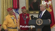 Donald Trump parle de Pocahontas devant des vétérans amérindiens