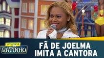 Fã da cantora Joelma canta música da cantora