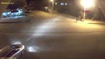 Adıyaman'da, Trafik Kazaları Mobese Kameralarında