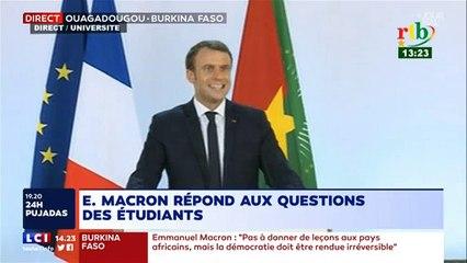 """Emmanuel Macron admet avoir commis """"une erreur"""" en parlant du """"défi civilisationnel"""" de l'Afrique"""