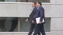 """Junqueras insiste que acepta el 155 y promete al TS actuar desde """"el diálogo"""""""
