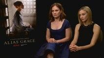 "Sarah Gadon Talks Taking on ""Alias Grace"" Role"