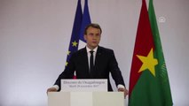 Fransa Cumhurbaşkanı Macron, Burkina Faso'da (2)