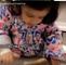 MS Dhoni's  Daughter  Ziva Dhoni making Round Round Roti