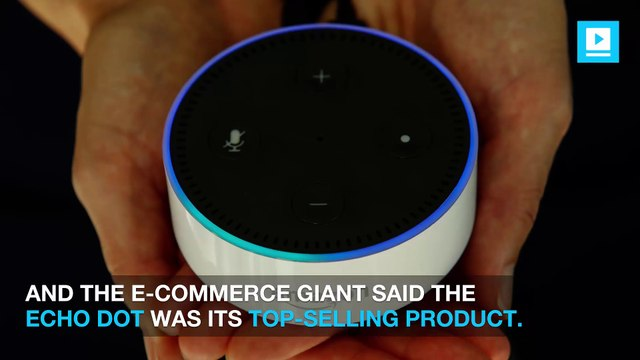 Echo Dot lead Amazon in sales over holiday shopping weekend