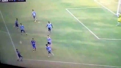 Gol de Roberto 'Tuca' Ordóñez ante Macará