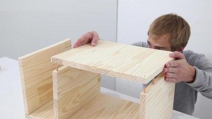 La table de chevet design DIY