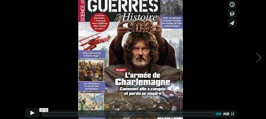 L'armée de Charlemagne dans le n°29 de Guerres et histoire
