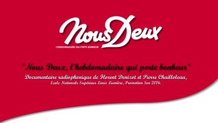 """""""Nous Deux, l'hebdomadaire qui porte bonheur"""" - Documentaire radiophonique"""