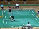 한국남단 자존심대결!! 인천공항 코리안리그 배드민턴 남자 실업팀단체전 남단 손완호(김천시청) vs이현일(MG새마을금고) Badminton League MS Son