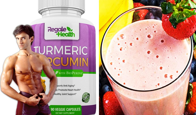 TURMERIC CURCUMIN HEALTH SUPPLEMENT & HIGH ENERGY FITNESS SMOOTHIES    Fit Now with Basedow