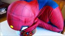Spiderman & Frozen Elsa vs Joker! Chocolate Prank! Funny Superheroes in Real Life  -) | Superheroes | Spiderman | Superman | Frozen Elsa | Joker
