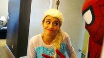 Spiderman & Frozen Elsa vs Joker! Joker Poo & Fart Prank! Funny Superhero Movie in Real Life  -) | Superheroes | Spiderman | Superman | Frozen Elsa | Joker