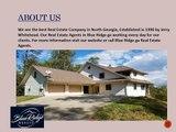 HOMES FOR SALE IN BLUE RIDGE GA - Blue Ridge Realty Inc