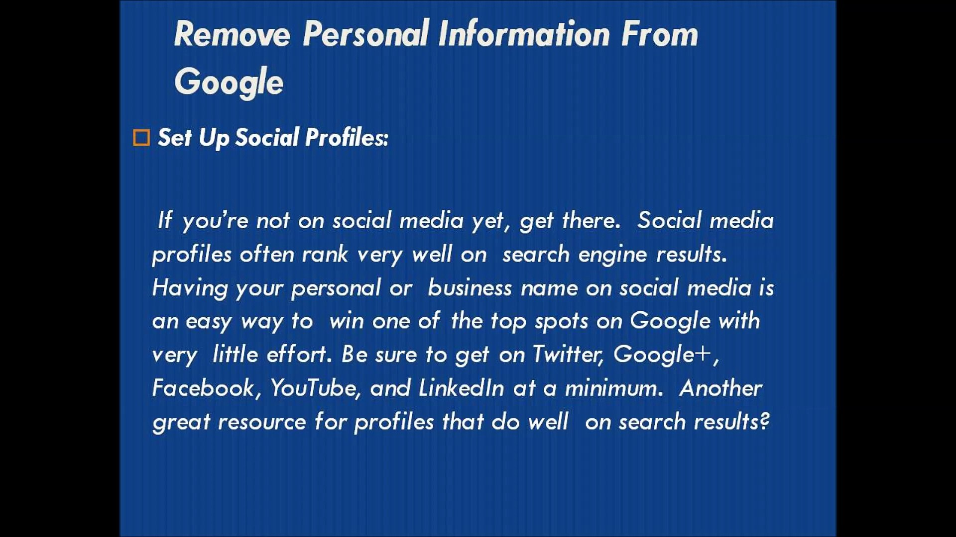 How To Remove Ripoff Report From Google Search Results