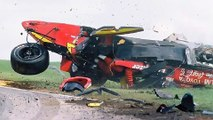 Memo Gidley scary wreck at Road America (August 19, 2001) ALL ANGLES & PICS