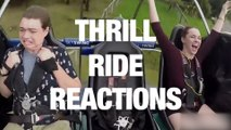 Hilarious Thrill Ride Reactions