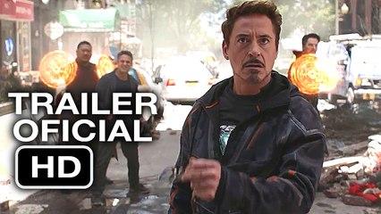 Avengers: Infinity War   Trailer OFICIAL en Español (HD) Scarlett Johansson