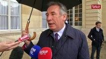"""François Bayrou: une circonscription unique pour les Européennes """"permettra de parler de l'Europe"""" indique François Bayrou"""