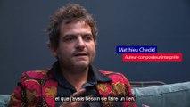Matthieu Chedid - M - soutient le Secours populaire français