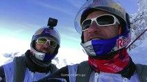 2 wingsuit atterrissent dans un avion en plein vol dans les Alpes !