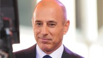 This Is The Creepiest Detail From The Matt Lauer Investigation