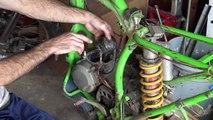 $200 Kawasaki Dirt Bike - It Runs BAD